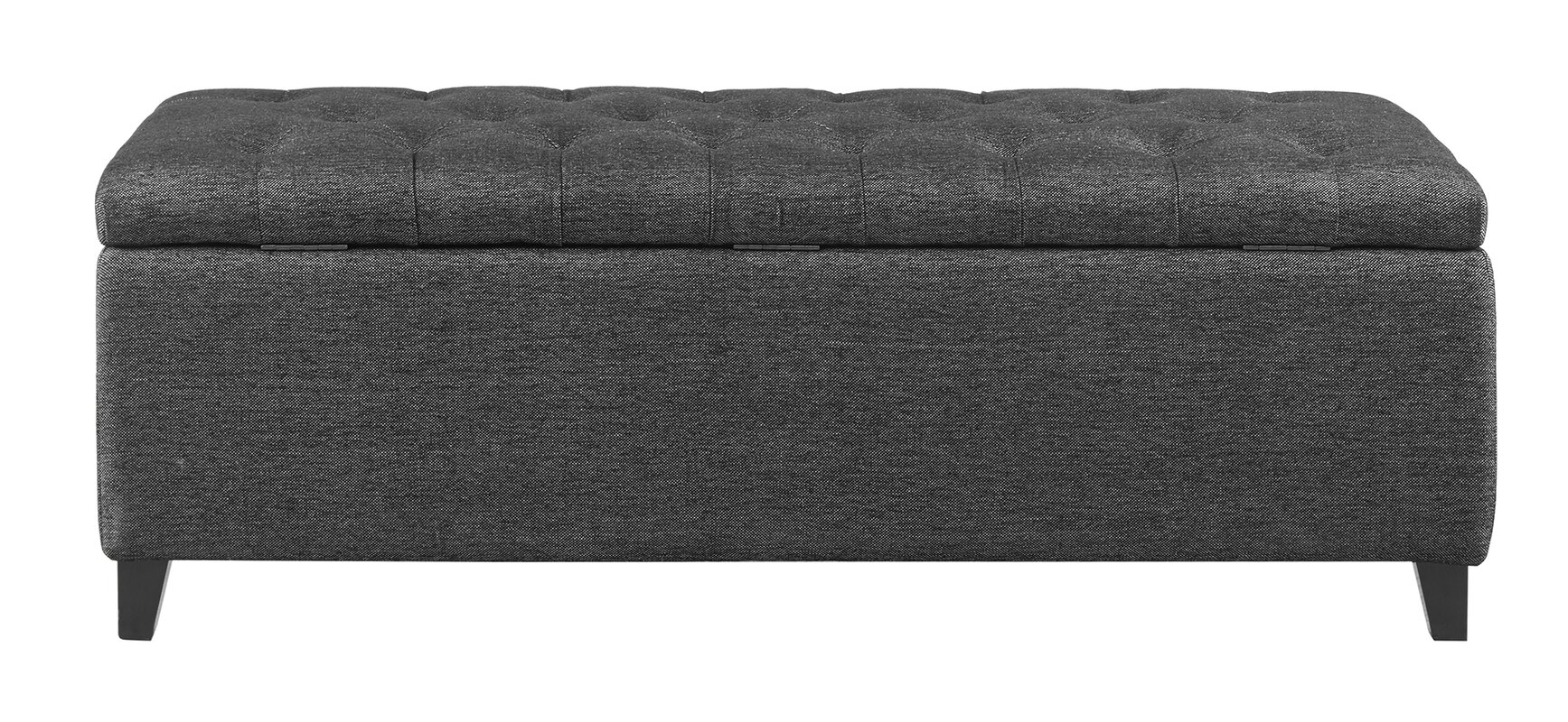 Upholstered Storage Entryway Bench: Holoman Upholstered Storage Bench & Reviews
