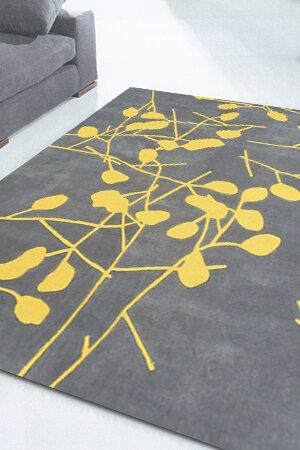 Susan Grey Floral Area Rug