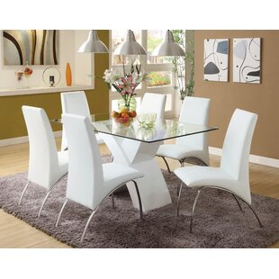 Faust 7 Piece Dining Set  sc 1 st  AllModern & Modern u0026 Contemporary Dining Room Sets | AllModern