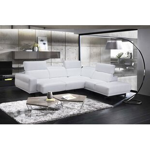 Leather White Sectionals You\'ll Love in 2019   Wayfair