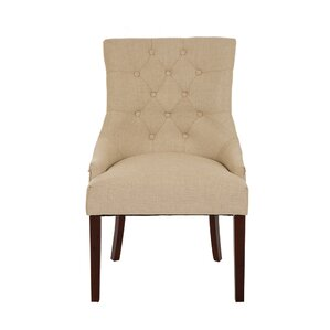 Highvale Tufted Back Fabric Parsons Chair (Set of 2) by Darby Home Co