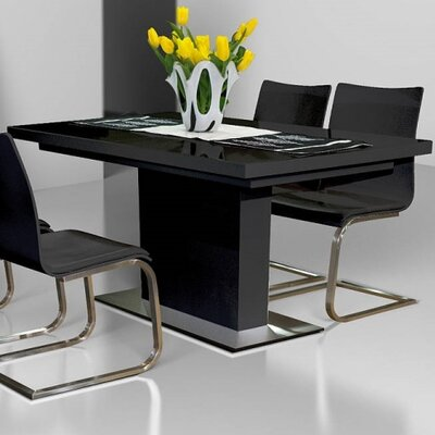 Extendable Glass Kitchen Amp Dining Tables You Ll Love Wayfair