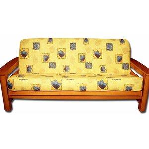 Sunny Bright Box Cushion Futon Slipcover