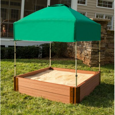 4u0027 Square Sandbox with Canopy/Cover : sandbox canopy - memphite.com
