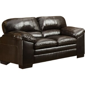 Simmons Upholstery Grandwood Loveseat by Red..