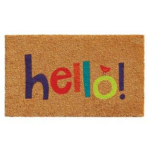 Shannon Hello Doormat