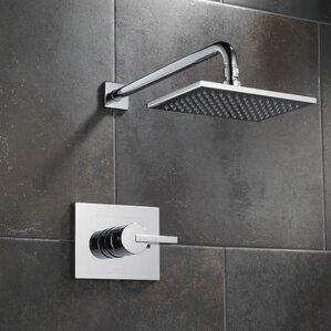 vero diverter shower faucet trim with lever handles - Shower Faucets