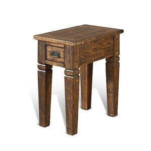 Calina Wood End Table by Gracie Oaks