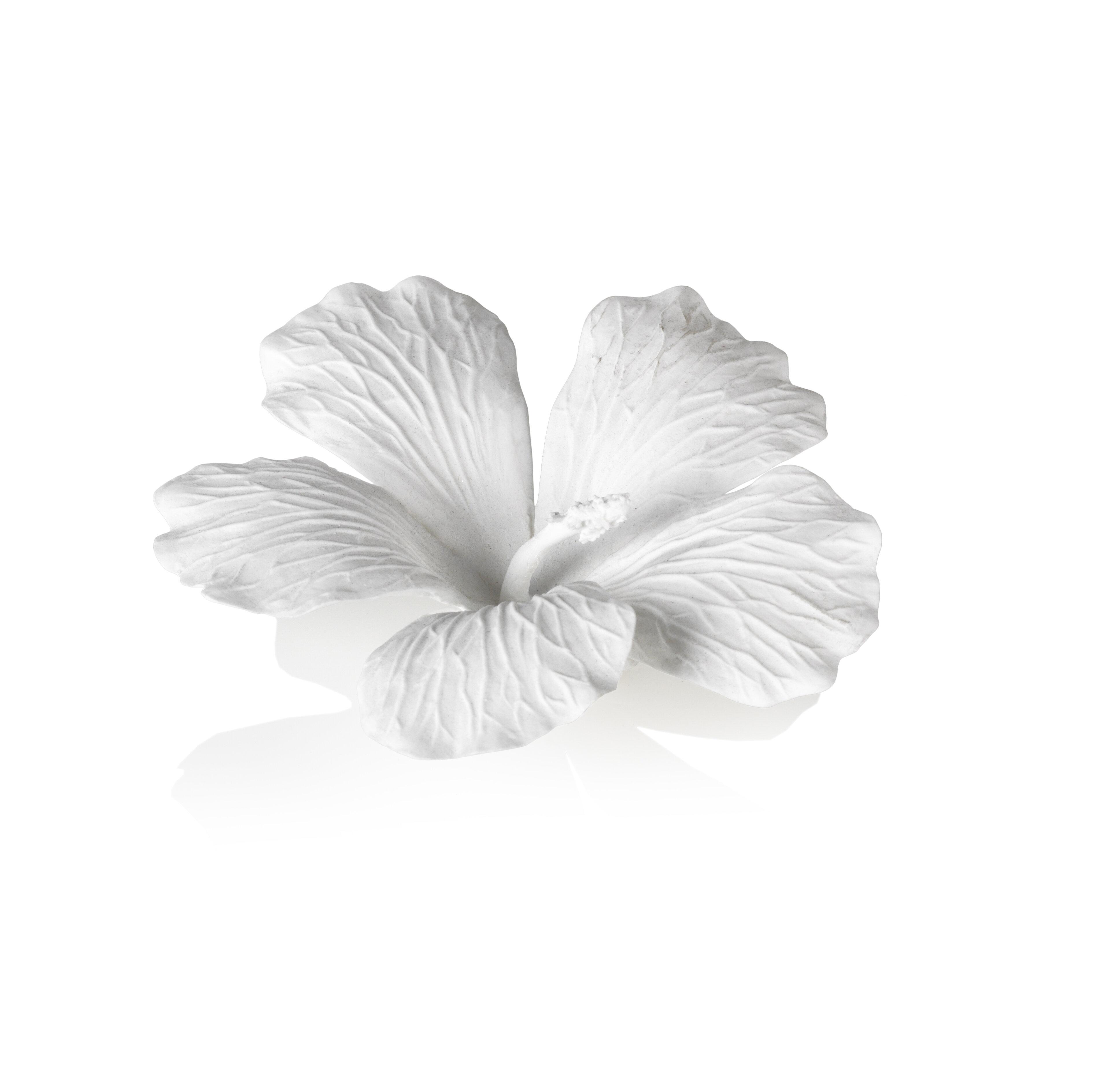 Bay isle home balmore china hibiscus flower sculpture wayfair izmirmasajfo