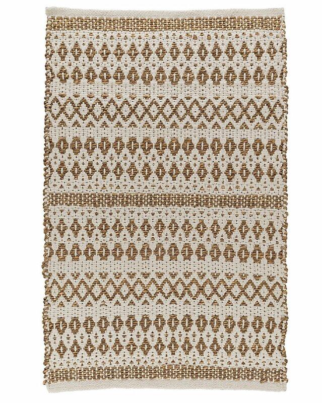La Palma Hand Woven Cream Area Rug