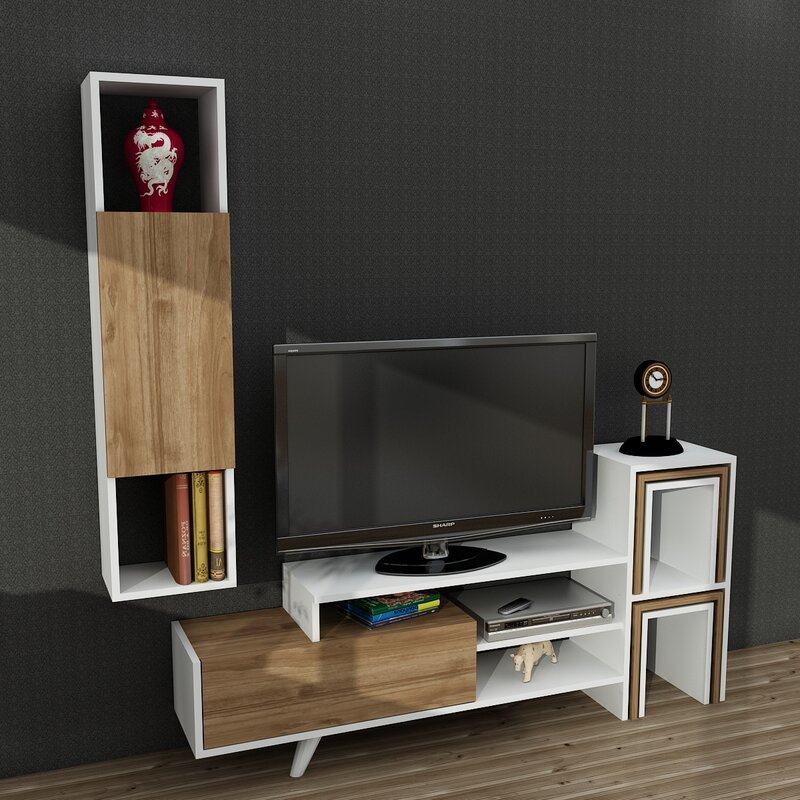 metro lane wohnwand bobby. Black Bedroom Furniture Sets. Home Design Ideas
