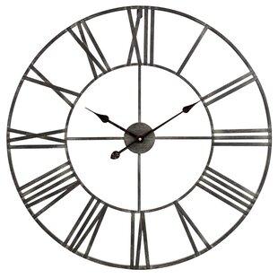Oversized Eisenhauer 30 Wall Clock