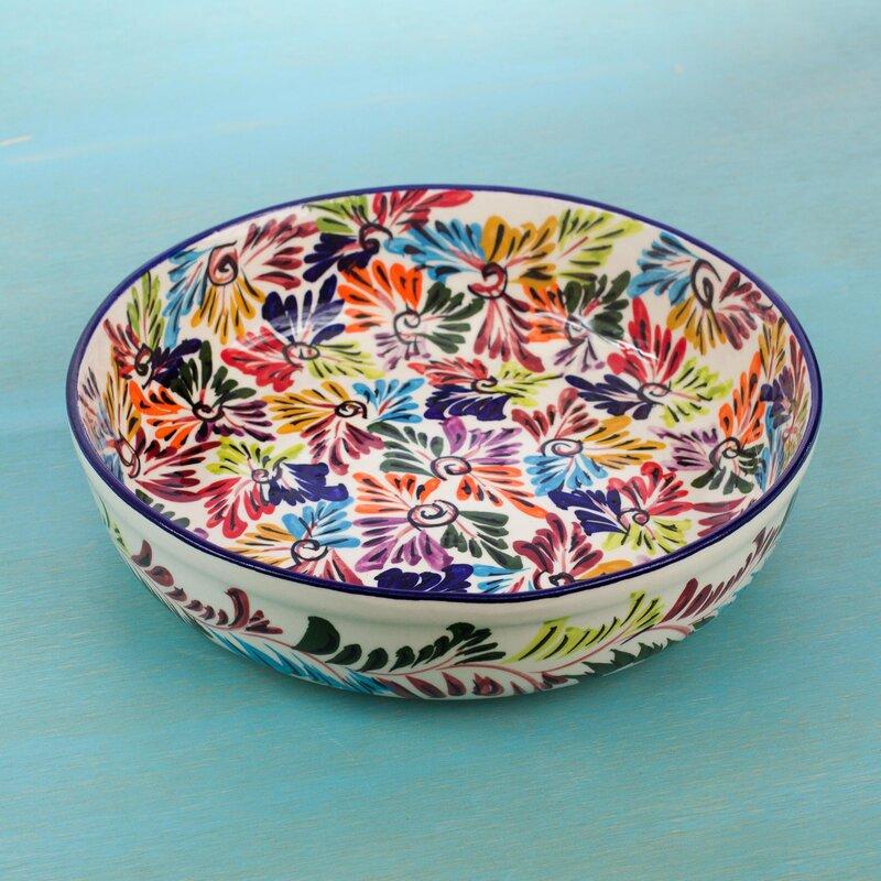 Red Ceramic Fruit Bowl | Migrant Resource Network