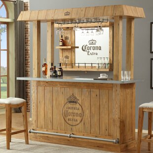 Corona Canopy Bar with Wine Storage