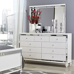 Mirrored Dressers You Ll Love Wayfair