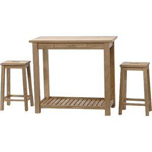 Bartisch-Set von Hazelwood Home