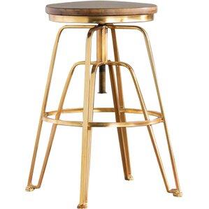 deals mistana maureen adjustable height bar stool at low price