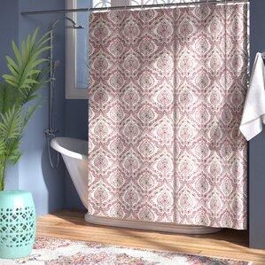 Majandra Paisley Damask Shower Curtain