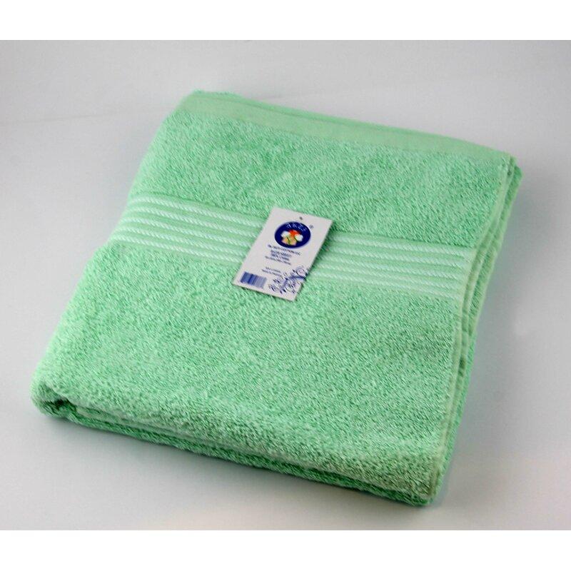 Akti Cotton 100 percent Cotton Bath Sheet  Color: Blue