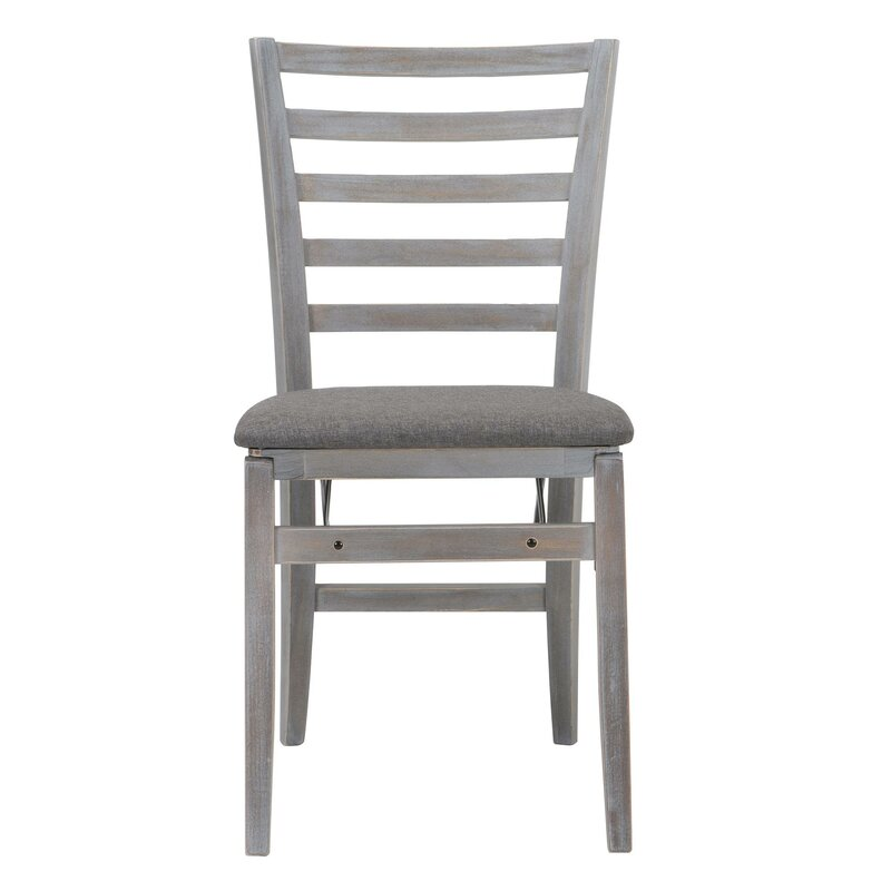 cosco home and office contoured back wood padded folding chair wayfair