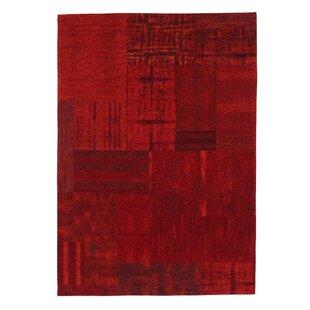 Joni Red Rug by Metro Lane