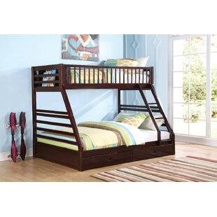 Twin Over Queen Bunk Bed Wayfair Ca