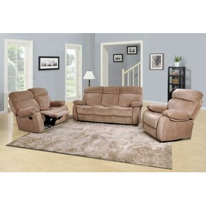 Percy 3 Piece Living Room Set by Beverly Fin..