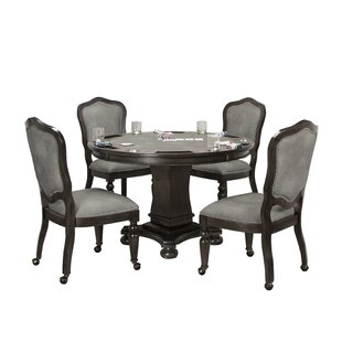 Oroville Reversible Flip Top 5 Piece Dining Set