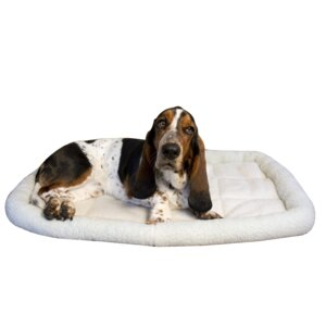 Premium Synthetic Sheepskin Handy Bed