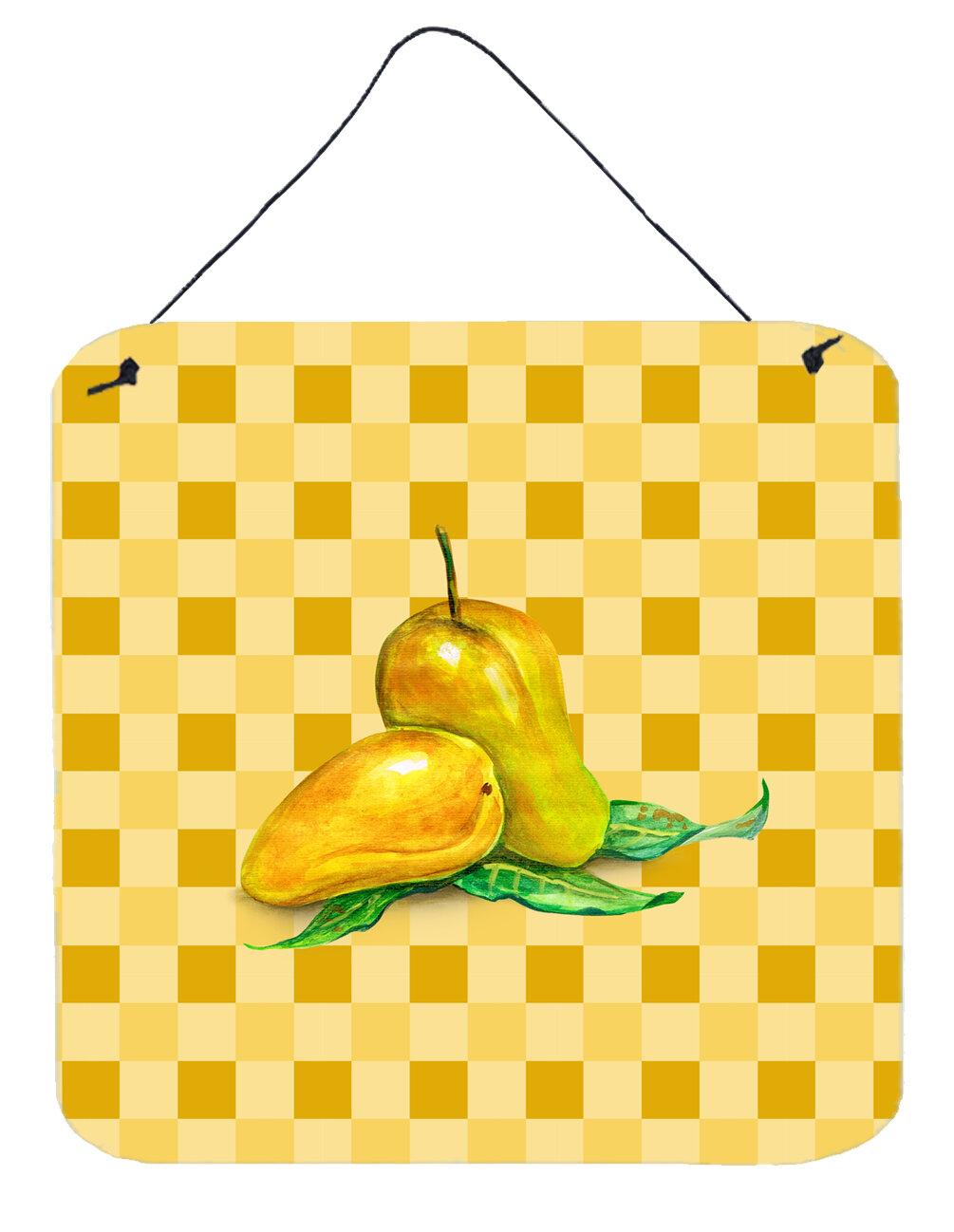 August Grove Mangos on Basketweave Wall Décor | Wayfair