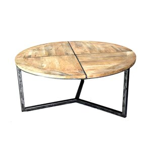Loon Peak Asbury Distressed Coffee Table