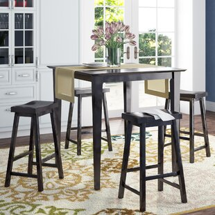 Elizabet 5-Piece Counter Height Pub Set