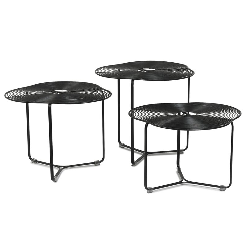 oggetti schema a cote 3 piece coffee table set wayfair