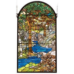 Tiffany Waterbrooks Stained Gl Window