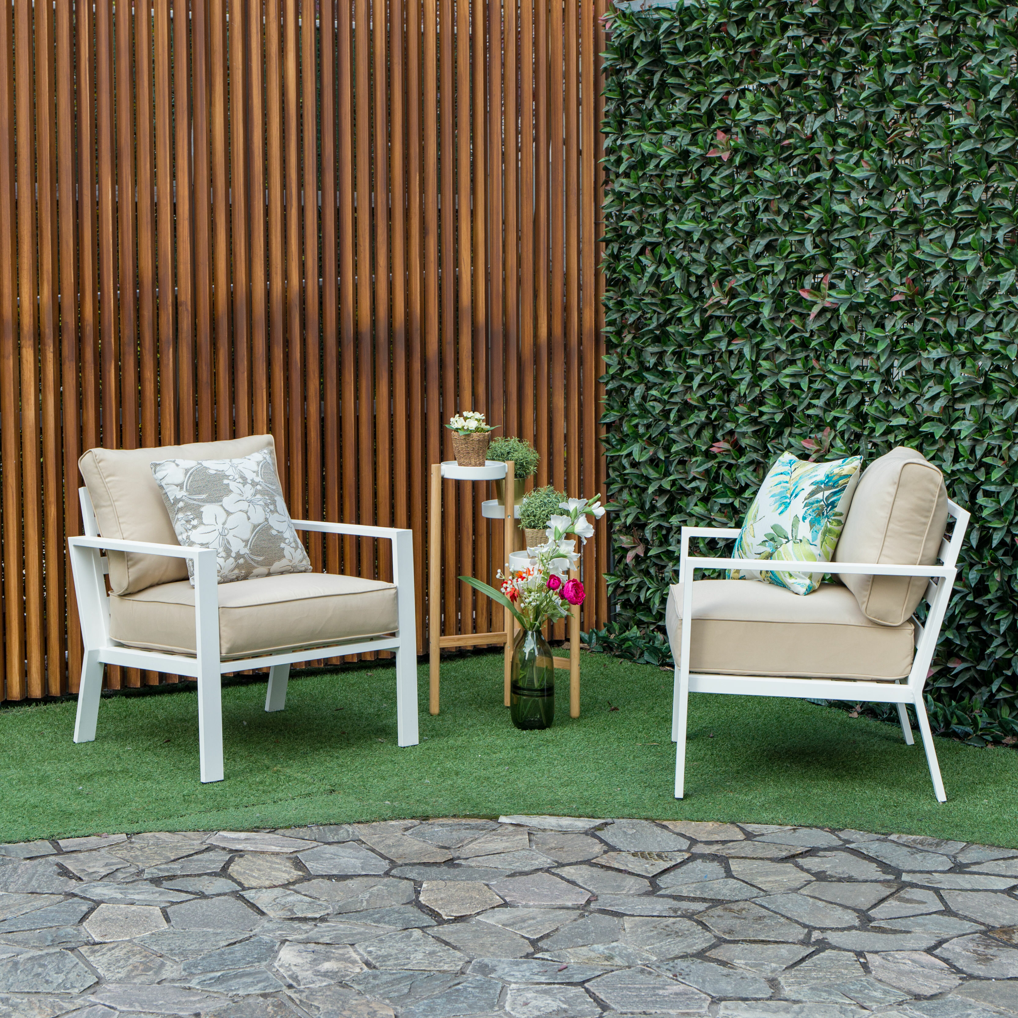Mccauley outdoor seating group with cushions allmodern