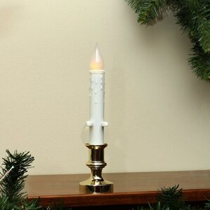 window christmas candle lamp