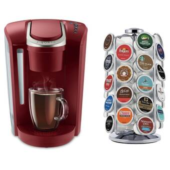 Keurig K475, Single Serve K-Cup Pod Coffee Maker, Programmable