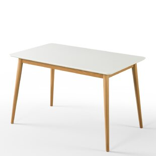 Bedwell Mid Century Wood Dining Table