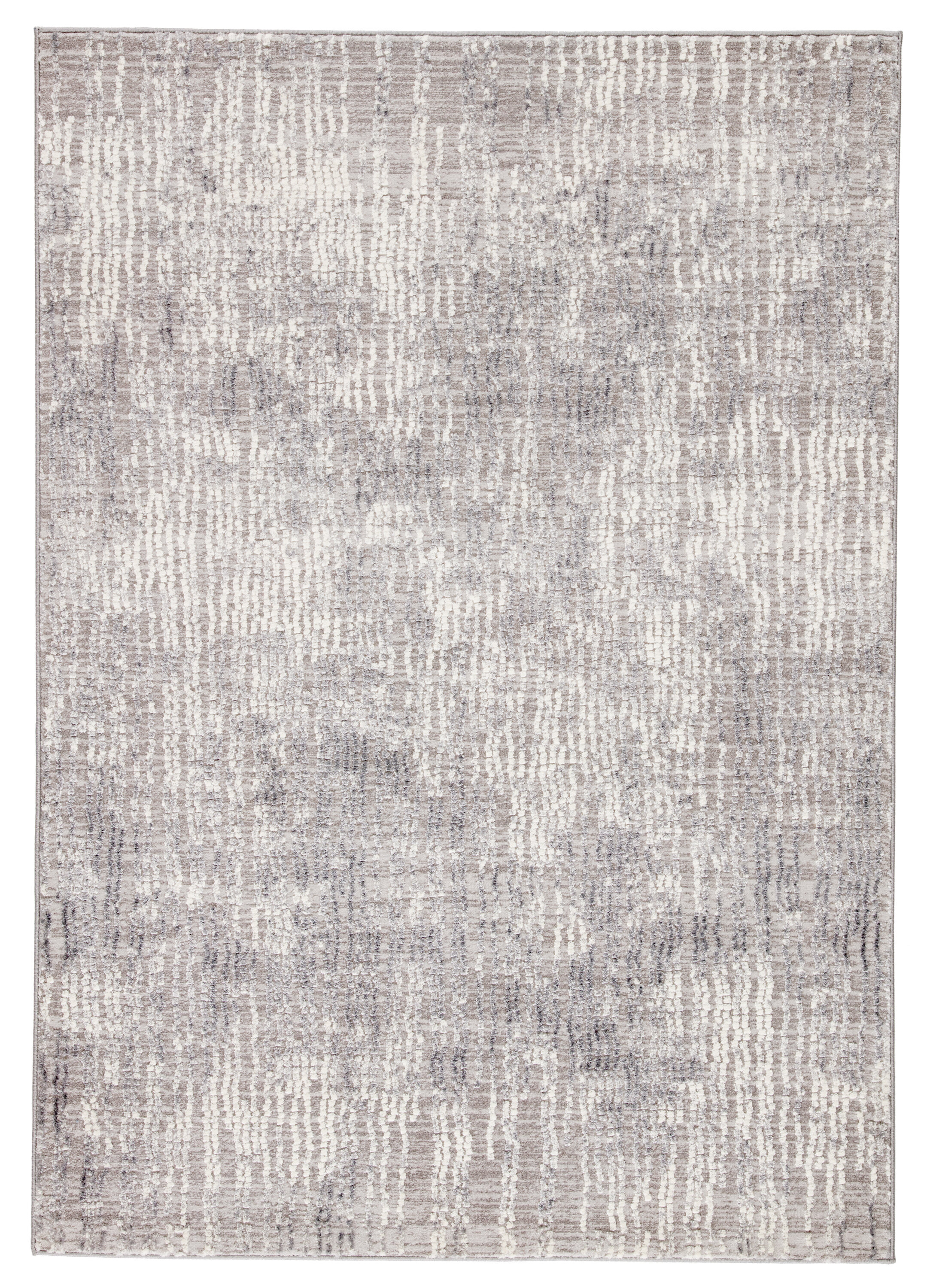 Almus Abstract Light Graywhite Area Rug Joss Main