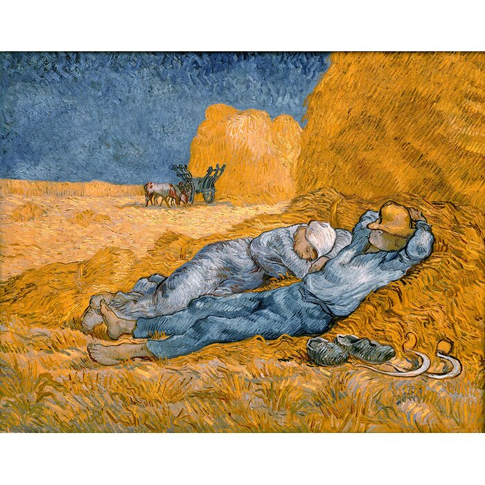 buy art for less noon rest from work 1891 by vincent van gogh