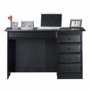 Gold Desks Youll Love Wayfair - Desks incorporate recessed computer technology