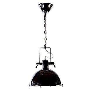 Nautical pendant lighting wayfair eloi 1 light dome pendant aloadofball Image collections