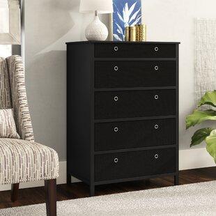 Black Tall Vertical Dresser Wayfair