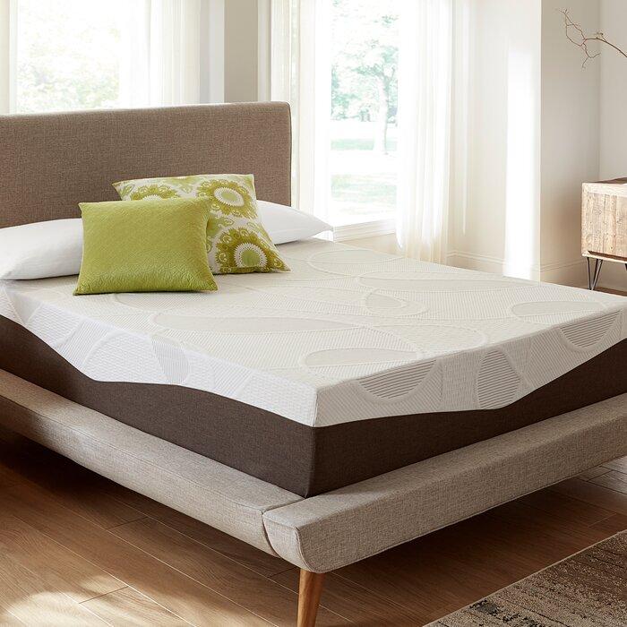 ip zinus memory foam mattress king en gel