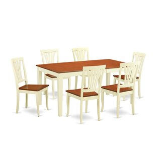 Napoli 7 Piece Dining Set Cool