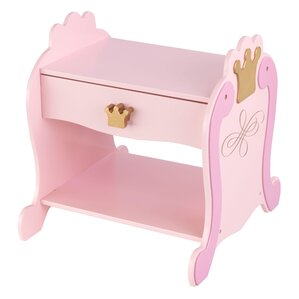 Princess 1 Drawer Nightstand by KidKraft