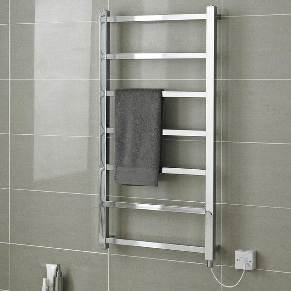 hudson reed eton wall mount electric heated towel rail reviews wayfair co ukhudson reed eton wall