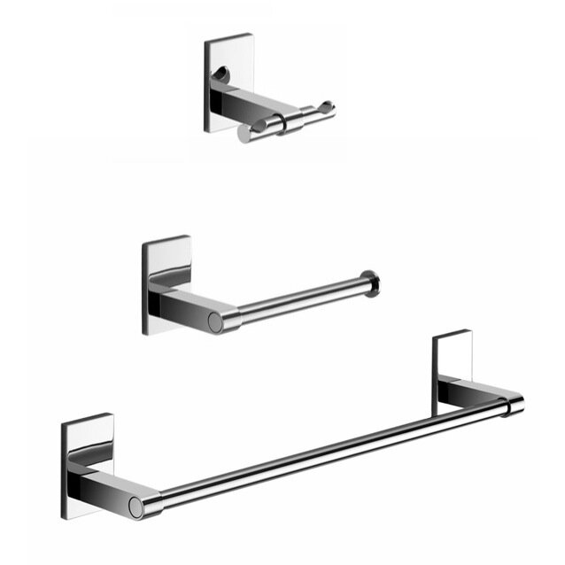 Maine 3 Piece Bathroom Hardware Set