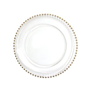 13\  Couture Charger Plate (Set ...  sc 1 st  Wayfair & Charger Plate Set | Wayfair
