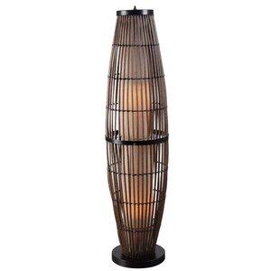 Outdoor Biscayne 51″ Column Floor Lamp